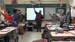 Jimmel Williams lead classroom